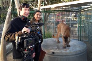Filmmakers David Elkins and Aneeta Akhurst
