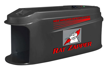 Quick Death -- Rodents of all sizes are welcomed in the Rat Zapper.