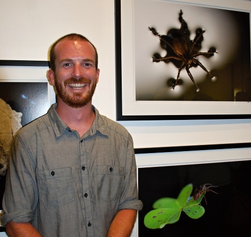 ART AND SCIENCE - Biologist Brenton Spies wants his photos to spur conservation and education efforts. PHOTO: BRENDA REES